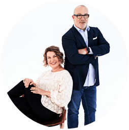 Innersense Founders - Greg and Joanne